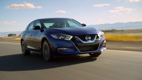 2016 Nissan Maxima SR bests field of luxury sports sedans in certified testing at Buttonwillow Racew ...