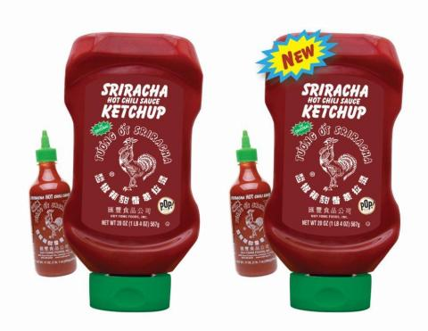 Red gold has teamed up with original huy fong sriracha hot chili sauce