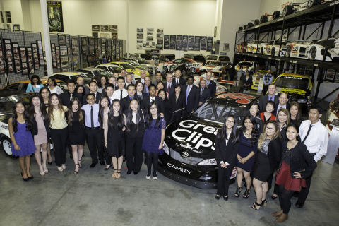 Toyota granted 22 scholarships to Asian Pacific Islander American students from the science, technol ...