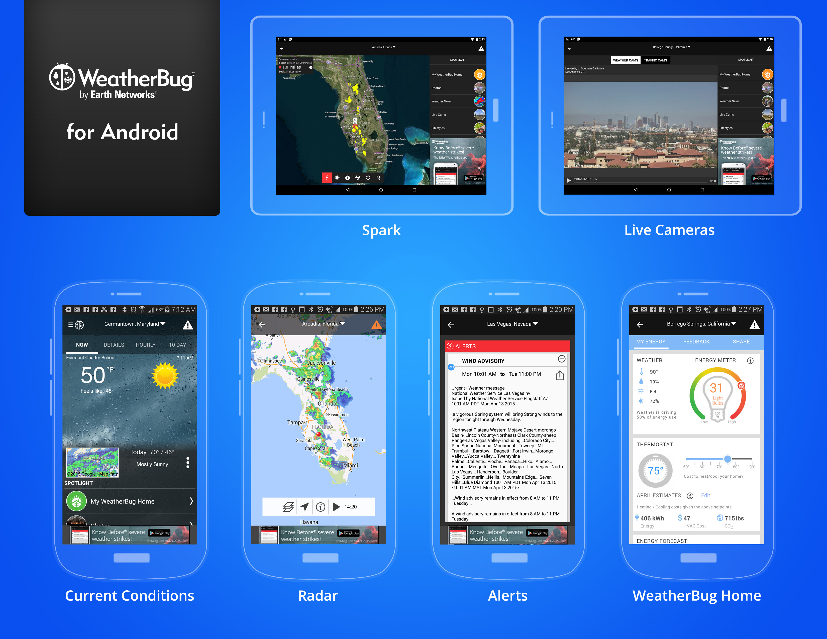WeatherBug App for Android Debuts New Home Energy Meter and New Look