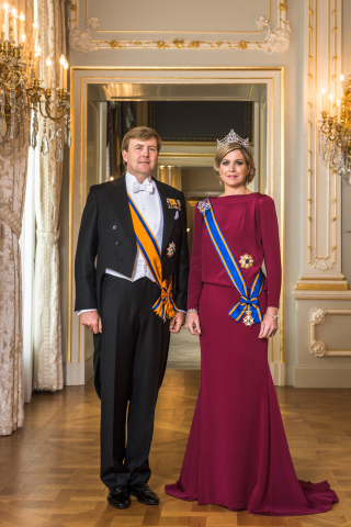 His Majesty King Willem-Alexander and Her Majesty Queen Máxima of the Kingdom of the Netherlands (Photo: Business Wire)