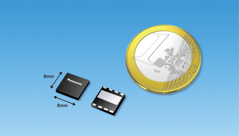 Industry's Smallest Enhancement-Mode 600V GaN Power Transistors Package (Graphic: Business Wire)