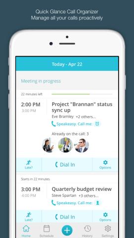 Speakeasy Screenshot (Photo: Business Wire)