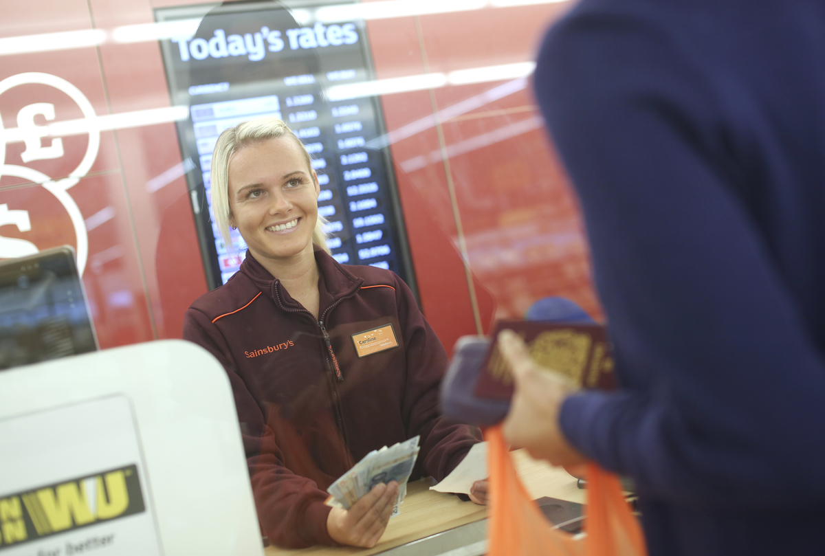 Sainsbury s bank announces new relationship with western union