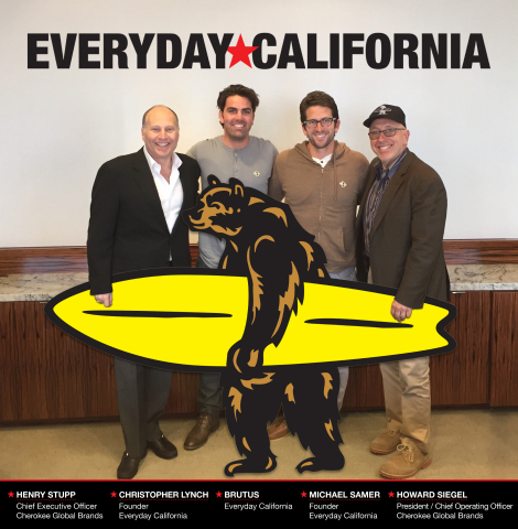 Everyday California joins Cherokee Global Brands (Photo: Business Wire)