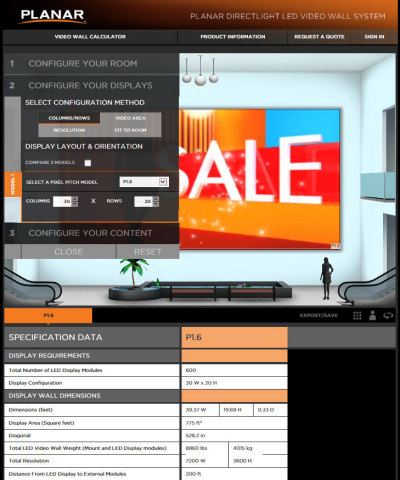 Planar DirectLight Calculator Demonstration (Photo: Business Wire)
