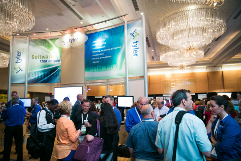 Tyler Technologies hosted nearly 2,800 clients at Connect, the company's annual user conference. (Ph