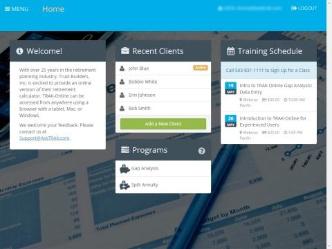 Trust Builders Introduces TRAK-Online for Mobile Devices (Photo: Business Wire)