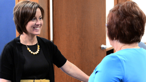 Nikki Stock Beem, Frankfort, Ind., Mortgage Loan Originator, Receives Regions Bank's Top Associate Honor (Photo: Business Wire)