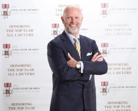 "Alex ""Trey"" Robertson, IV, of Robertson & Associates, LLP (Photo: Business Wire)"