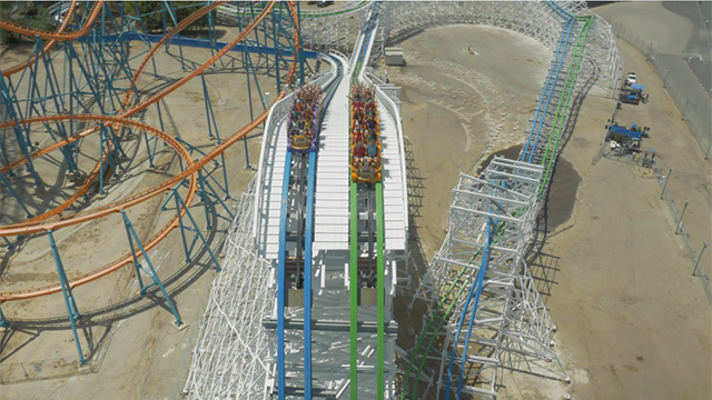 Twisted Colossus Ride Footage