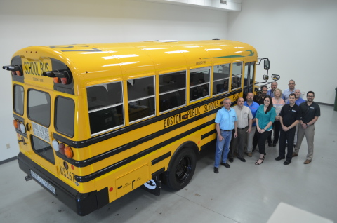Boston Public Schools Shift to Bluebird's Propane-Powered Buses (Photo: Business Wire)