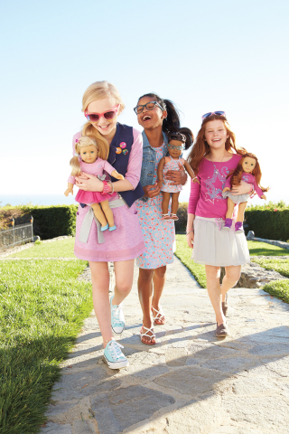 American Girl's Truly Me line. (Photo: Business Wire)