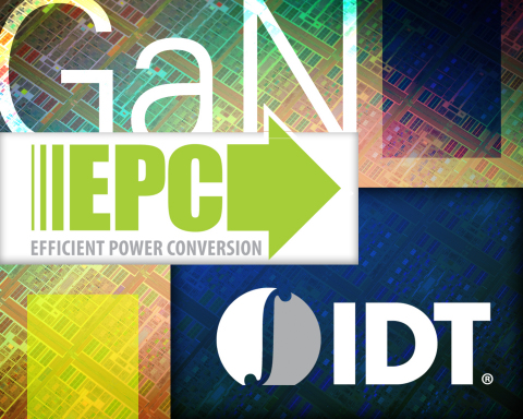 IDT and EPC Collaborate to Integrate Gallium Nitride and Silicon for Faster, Higher Efficiency Semiconductor Devices (Graphic: Business Wire)