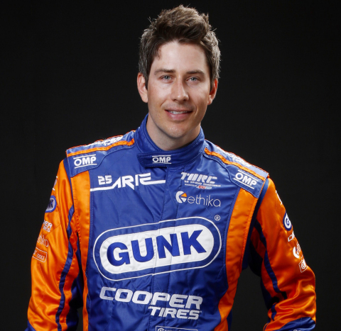 Professional driver Arie Luyendyk Jr. has teamed with Cooper Tire to raise awareness of tire safety.  National Tire Safety Week is May 24-30.  More information is available at Coopertire.com. (Photo: Business Wire)