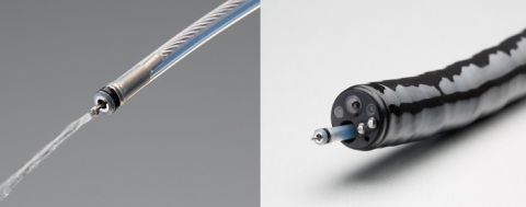 Splash M-Knife 送水機能(左)(写真:ビジネスワイヤ)