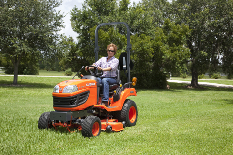Kubota's BX Series, including the BX1870 pictured here, is built in Gainesville, Georgia. (Photo: Business Wire