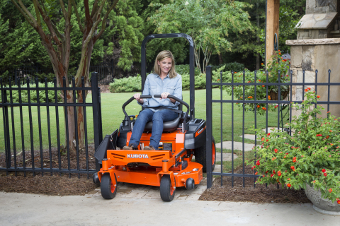 Kubota's Zero-Turn mowers, including the Z100 Series Kommander pictured here, is built in Gainesville, Georgia. (Photo: Business Wire)
