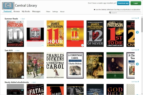 The 3M Cloud Library's redesigned web patron makes it simpler for users to browse their library's 3M Cloud Library collection (Graphic: Business Wire)