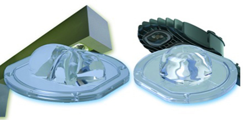 Momentive's next-generation ultra-clear LSR in Khatod SIO3 Silicone Lenses (Photo: Business Wire: