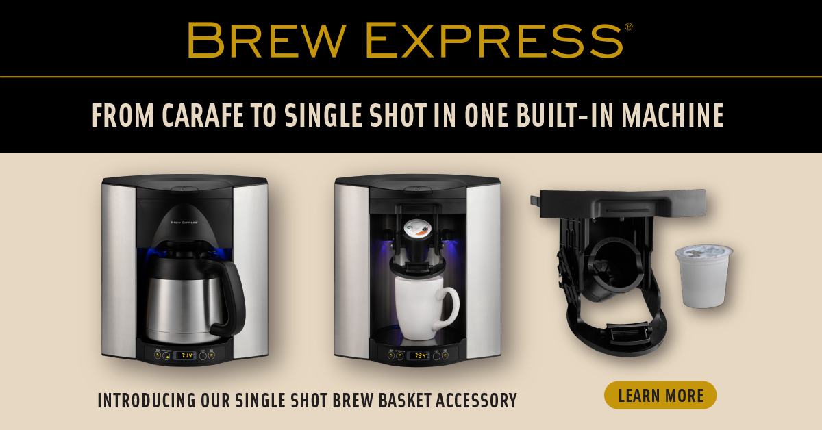 Brew Express Announces New Single Shot Accessory For Use With K Cup Business Wire
