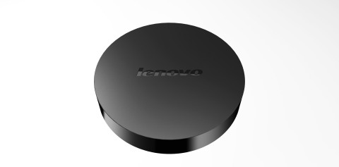 Lenovo Cast - company's first multimedia streaming device. (Photo: Business Wire)
