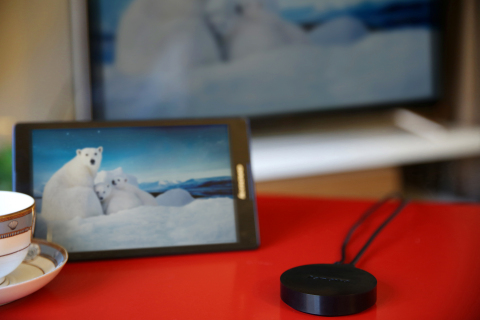 Share favorite photos, videos and more from your smartphone or tablet to your TV. (Photo: Business Wire)