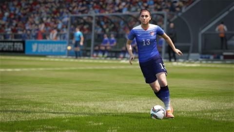 EA SPORTS FIFA 16 - Alex Morgan (Photo: Business Wire)