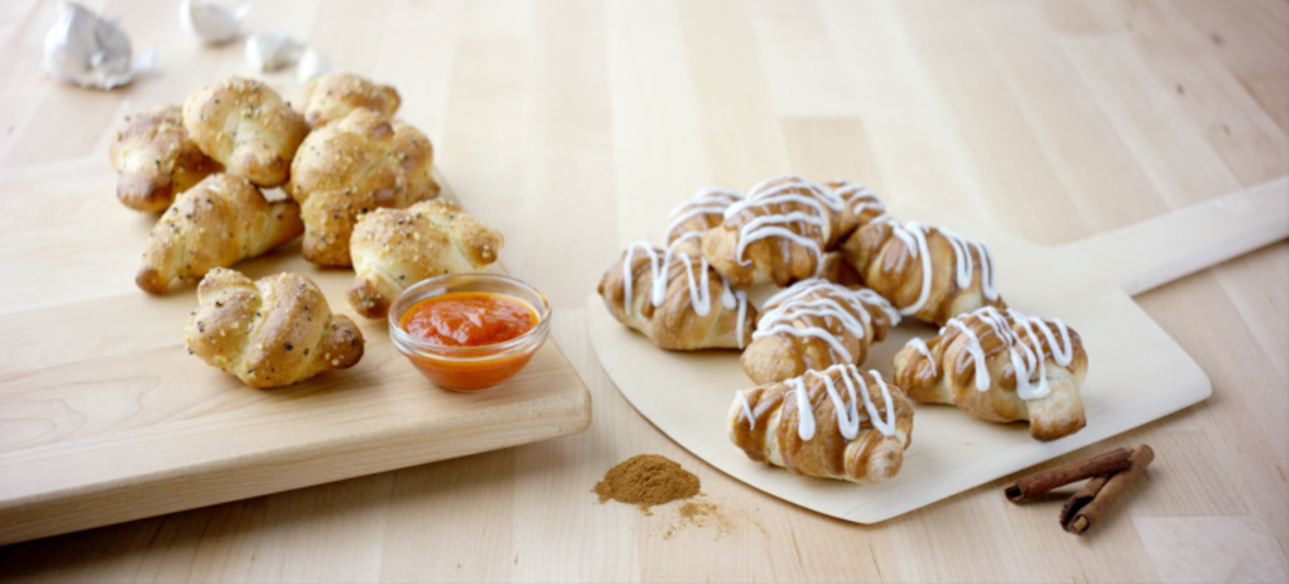 ... Knots papa john's sweetens the deal with all-new cinnamon knots