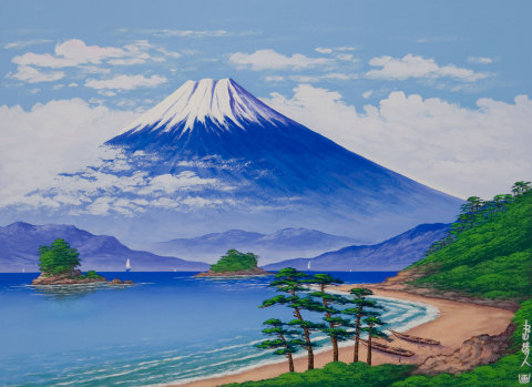 Paintings and other artwork of Mt. Fuji, the representative mountain of Japan, will be displayed in the hotel. (Graphic: Business Wire)