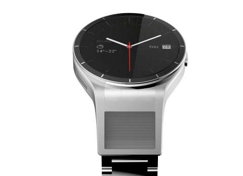 #5 smartwatch concept is first with dual screens (Photo: Business Wire)