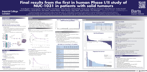Final results from the first in human Phase I/II study of NUC-1031 in patients with solid tumours (Graphic: Business Wire)