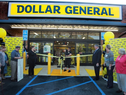 Dollar General celebrates the official grand opening of its 12,000th store location on May 30, 2015 in Juliette, Georgia.  (Photo: Business Wire)