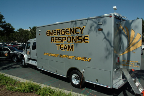 Sprint Emergency Response Team (ERT) vehicles are deployed to areas hit by disasters if needed. (Photo: Business Wire)