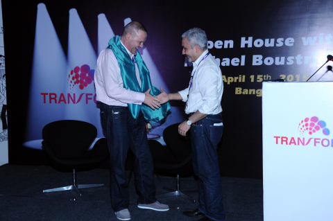 CEO, Michael Boustridge & India Head and VP, Srikanta Srikantapura (Photo: Business Wire)