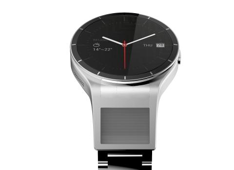 Magic View概念是首个采用双屏幕的智能手表概念(照片:美国商业资讯)