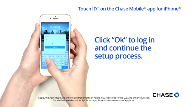 How to set up Touch ID on the Chase Mobile app for iPhone