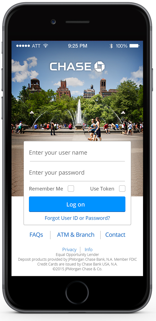 Chase Mobile® App for iPhone® Introduces Touch ID™ | Business Wire
