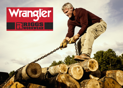 Wrangler(R) RIGGS WORKWEAR(R) Announces Partnership with Brett Favre (Graphic: Business Wire)