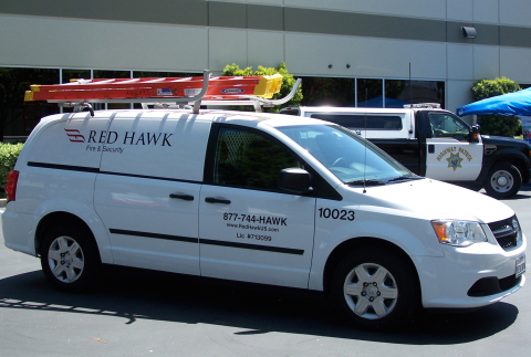 Red Hawk Fire & Security honored for fleet safety as it meets the fire, life safety and security needs of its commercial customers. (Photo: Business Wire)