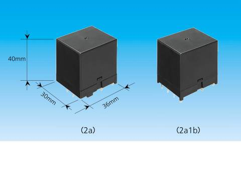 """The Industry's Smallest Power Relays """"HE-S Relay"""" (Photo: Business Wire)"""