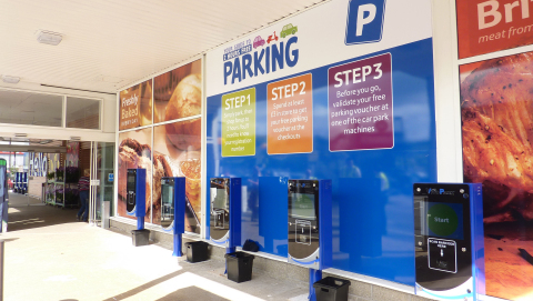 Access-IS barcode readers installed in VivoPark machines at Tesco supermarket (Photo: Business Wire)