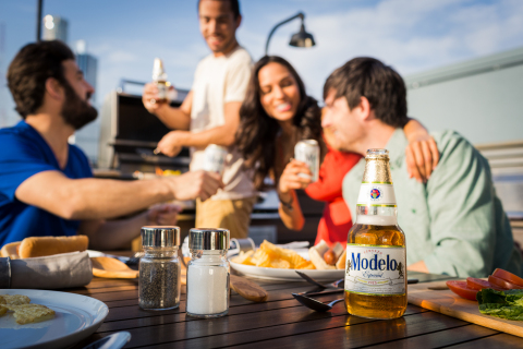 Modelo Especial, which recently became the second most imported beer in the United States, has a sum ...