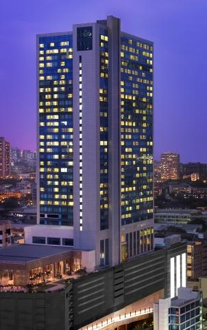 Exterior of The St. Regis Mumbai (Photo: Business Wire)