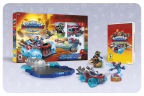 Skylanders, the leaders and pioneers of toys-to-life, is giving fans another trailblazing innovation on Sept. 20 in North America with the launch of Skylanders SuperChargers. The new game puts players in the drivers' seat by introducing vehicles-to-life -- an entirely new way to play Skylanders with Land, Sea and Sky Vehicles. (Photo: Business Wire)