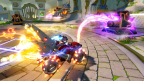 Skylanders SuperChargers' Hot Streak is just one of the new vehicles that fans can bring to life in Skylanders SuperChargers on Sept. 20. The Land vehicle's fiery blast is too much for enemies to handle. (Graphic: Business Wire)