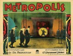 The lobby card from the 1927 silent movie and science-fiction epic Metropolis is being offered at auction by Profiles in History, with online bidding available through Invaluable. (Graphic: Business Wire)