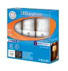 GE launches Bright Stik™, a CFL replacement LED light bulb available in an LED 3-pack for under $10 every day at The Home Depot. (Photo: General Electric)