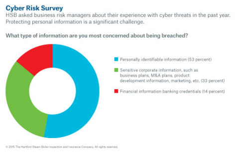 Companies are concerned about keeping personally identifying information safe. (Graphic: Business Wire)