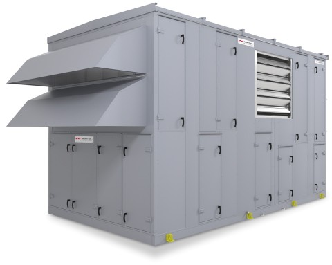 Nortek Air Solutions Cool3(TM) indirect evaporative cooling (IDEC) unit (Photo: Nortek Air Solutions, LLC)